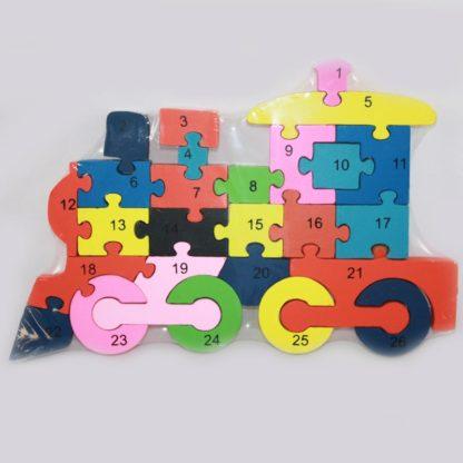 Train Wood Puzzle