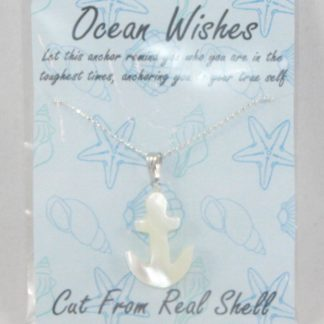 Shell Anchor Necklace