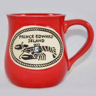 PEI Lobster Stoneware Mug
