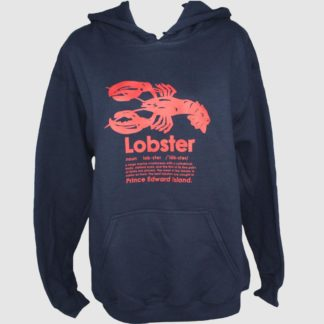 PEI Lobster Definition Hoodie