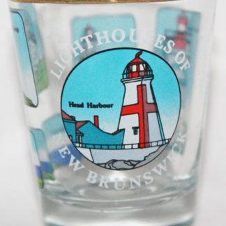 New Brunswick Lighthouse Shot Glass