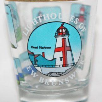 New Brunswick Lighthouse Shot Glass