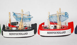 Newfoundland Fishing Boat Small