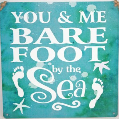 You and Me Metal Sign