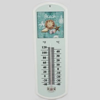 Beach Metal Thermometer