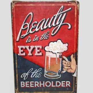Beerholder Metal Sign