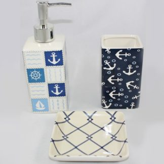 Nautical Bathroom Set
