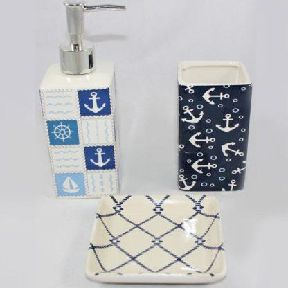 Nautical Bathroom Set