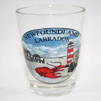 Newfoundland Shot Glass