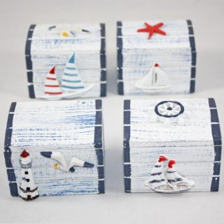 Set of 4 Nautical Chests