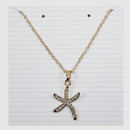 Finger Starfish Necklace