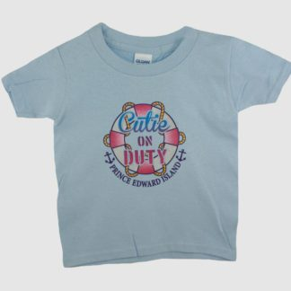 PEI Kids 'Cutie on Duty' T-Shirt