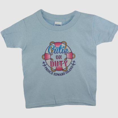 PEI Kids 'Cutie on Duty' T-Shirt