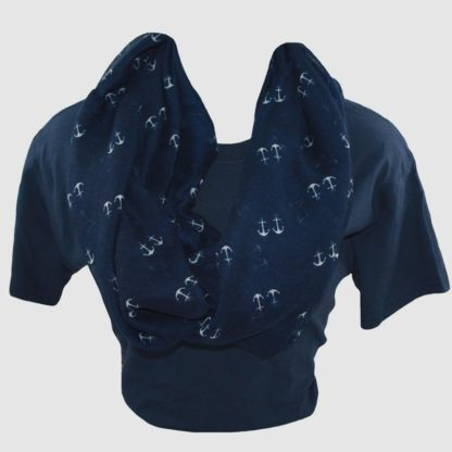Double Anchor Scarf Infinity