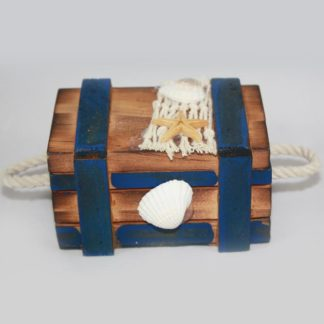 Nautical Wood Chest Small
