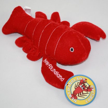 NL Plush Ribbed Lobster