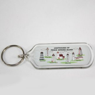 Lighthouses of PEI Key Ring