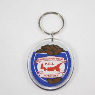 PEI Potato Key Ring