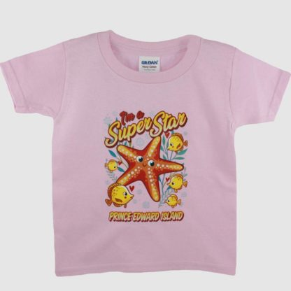 PEI Kids Starfish T-shirt