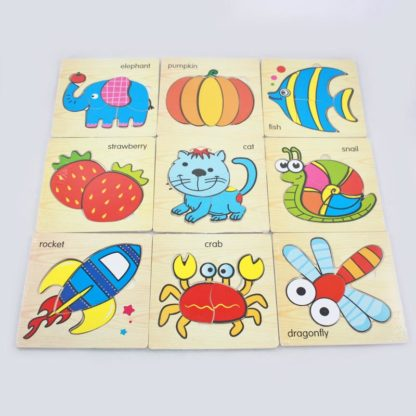 Kids Wood Puzzle Assorted