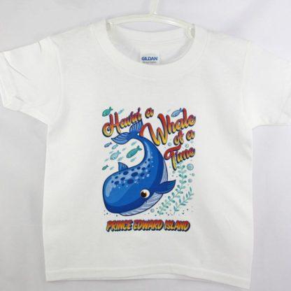 PEI Kids Whale T-Shirt