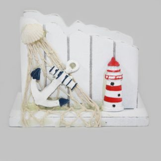 Anchor and Lighthouse Napkin Holder