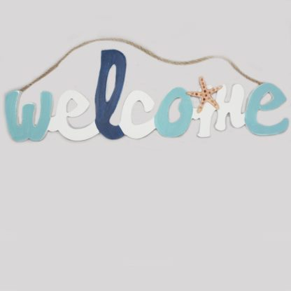 Welcome Wood Decoration