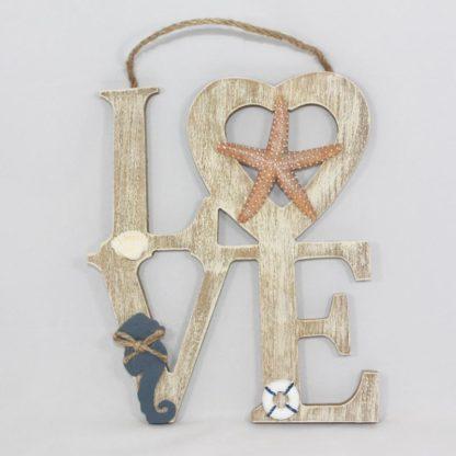 Love - Wood decoration