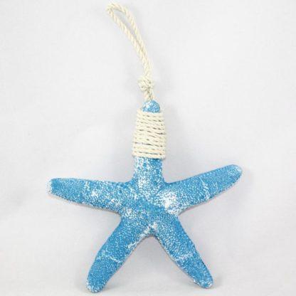 Blue Polyresin Starfish Decoration