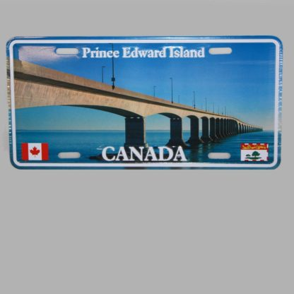 PEI Confederation Bridge License Plate