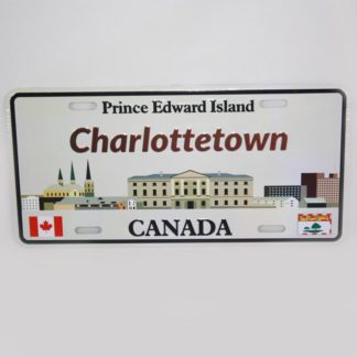 Charlottetown, PEI License Plate