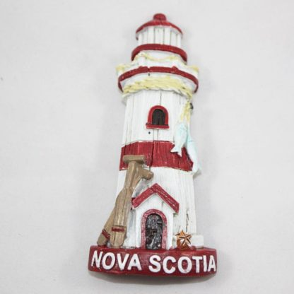 NS Red Lighthouse Magnet