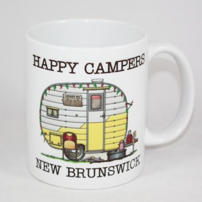 New Brunswick Happy Campers Mug