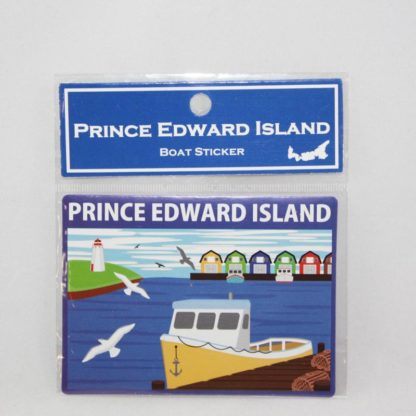 PEI Boat Sticker