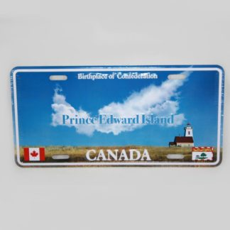 PEI Clouds License Plate