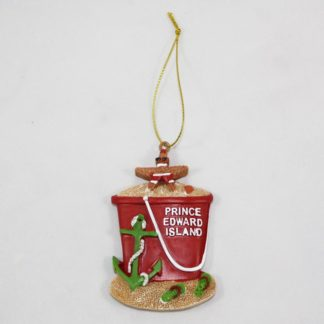 PEI Pail Ornament