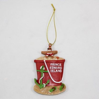 PEI Pail Ornament