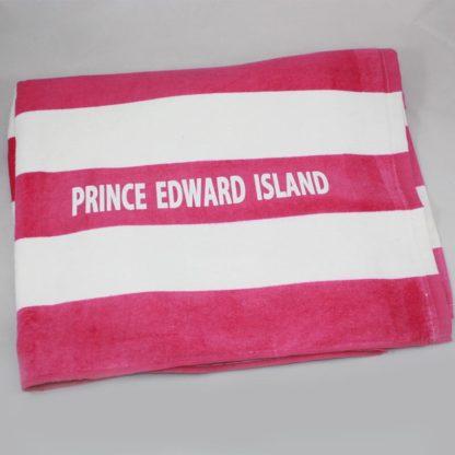 PEI Pink Beach Towel
