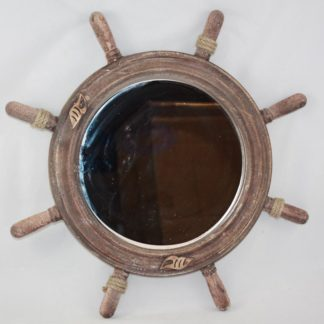 XR115 - Ship Wheel Mirror
