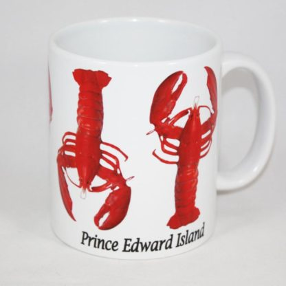 PEI Vertical Lobster Mug